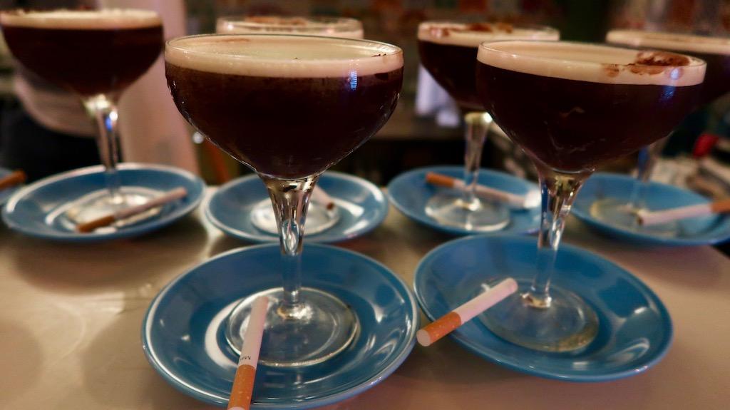 The Little Blue Door Espresso Martini