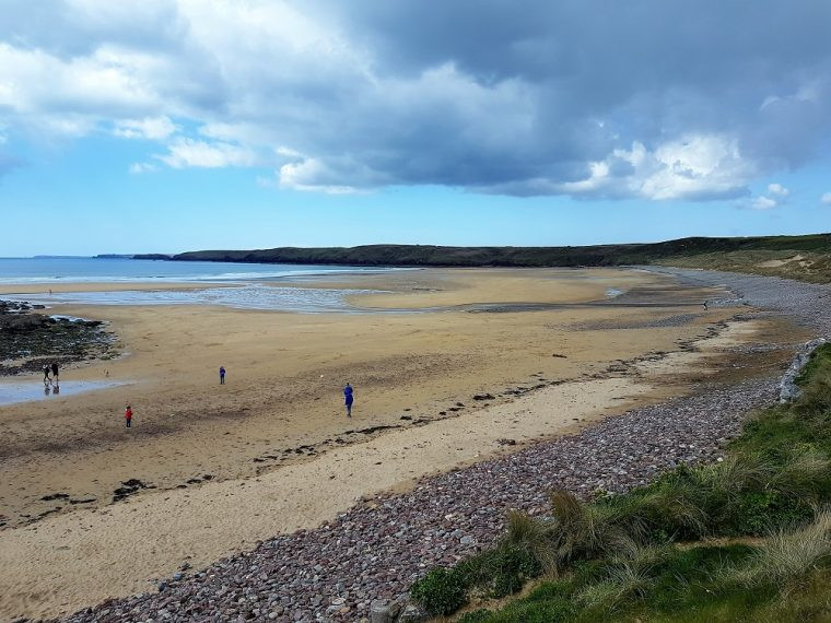 Beach at Freshwater WEst Pembrokeshire