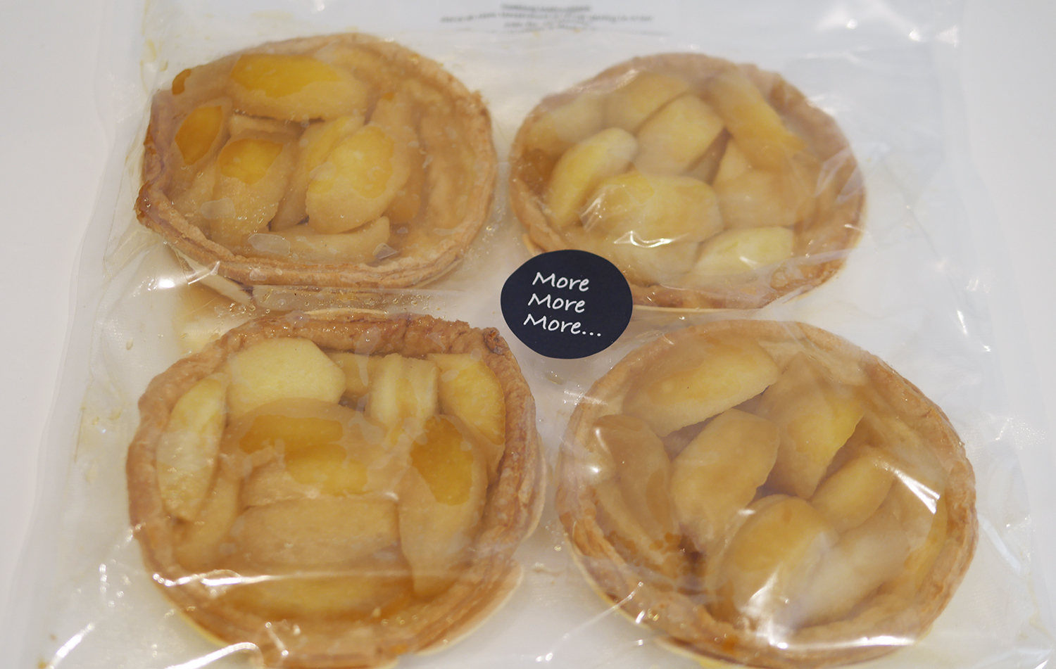 Individual Apple Tarts More More More