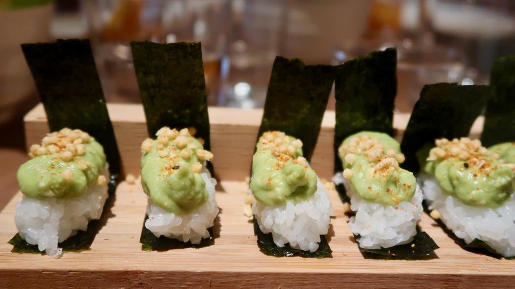 Inko Nito Soho Restaurant - veggie nigaki
