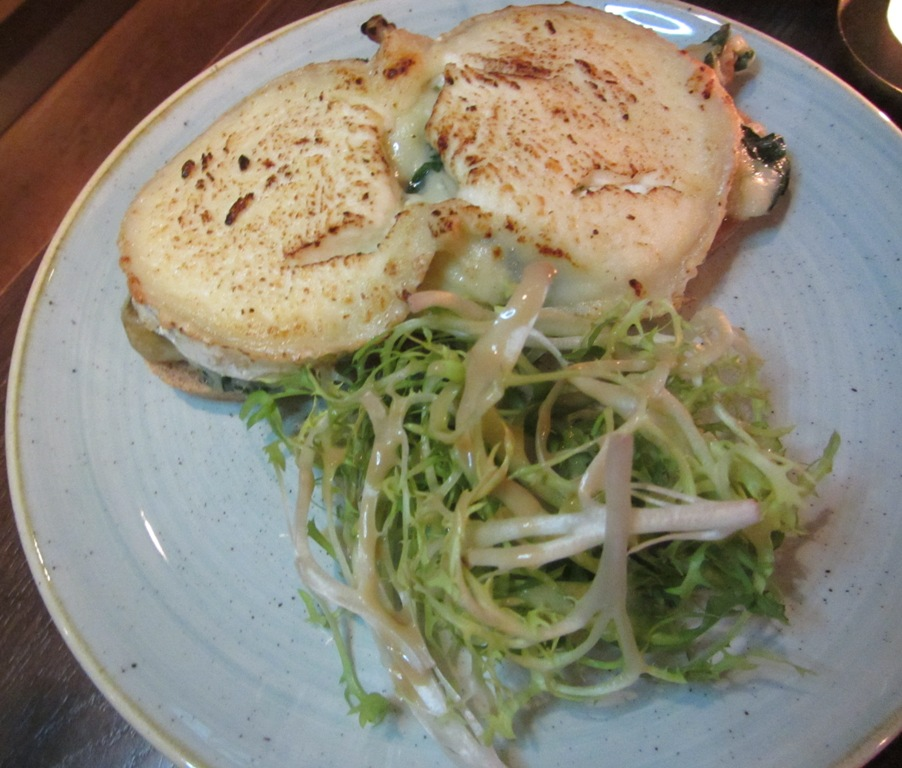 La Ferme - Croque Monsieur Forestier Primrose Hill Restaurant