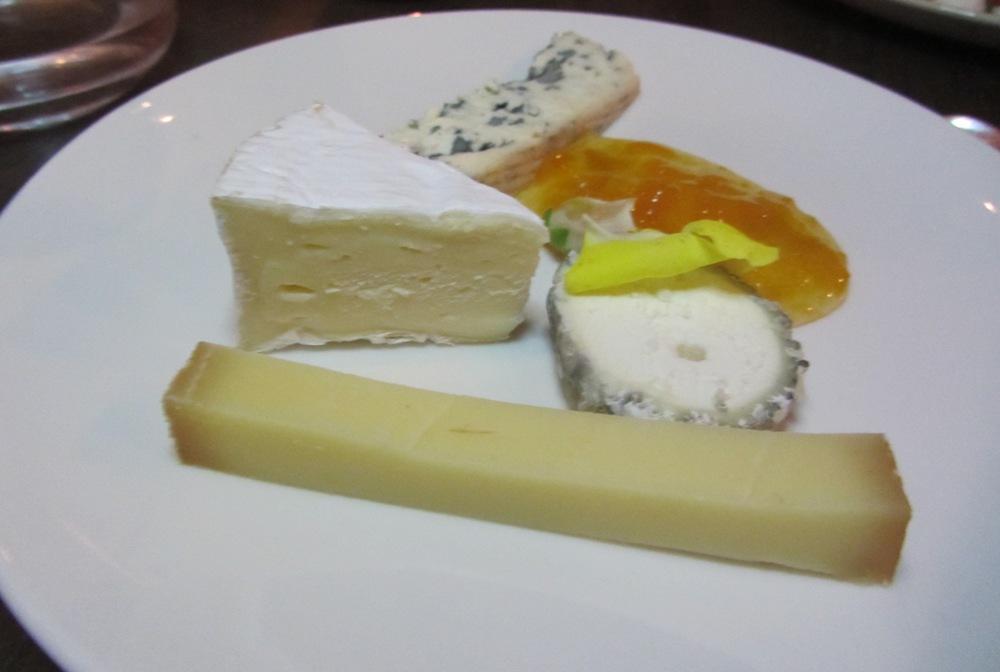 La Ferme - cheese plate