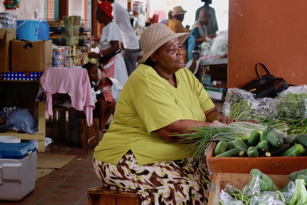 Barbados Cheapside Market Bridgetown
