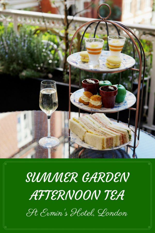 Luxury Afternoon Tea London St Ermins Hotel Victoria