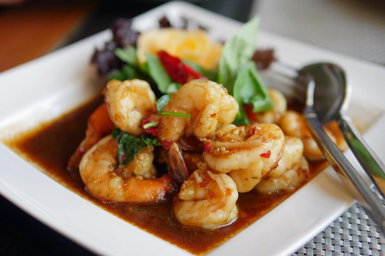Nipa Thai Hyde Park Thai Restaurant - Prawns