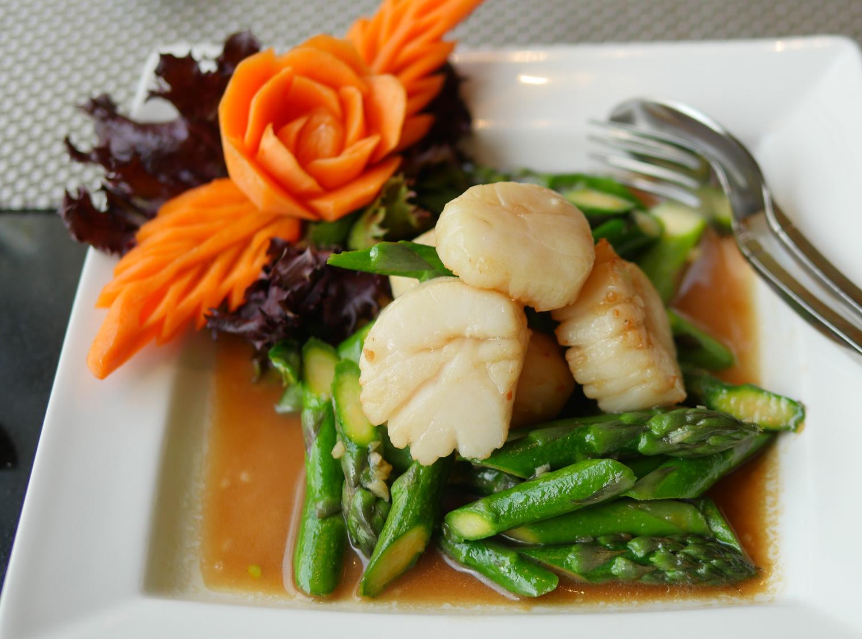 Nipa Thai Lancaster Gate Thai Restaurant - Scallops
