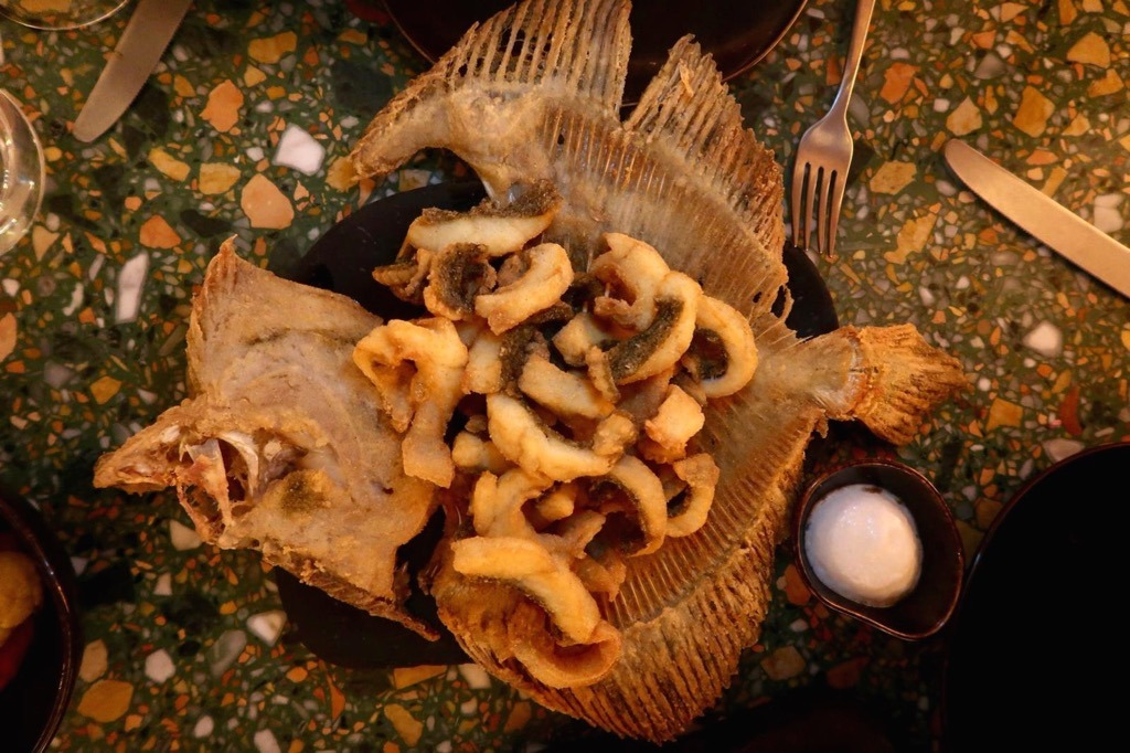 OMARS PLACE pimlico restaurant turbot
