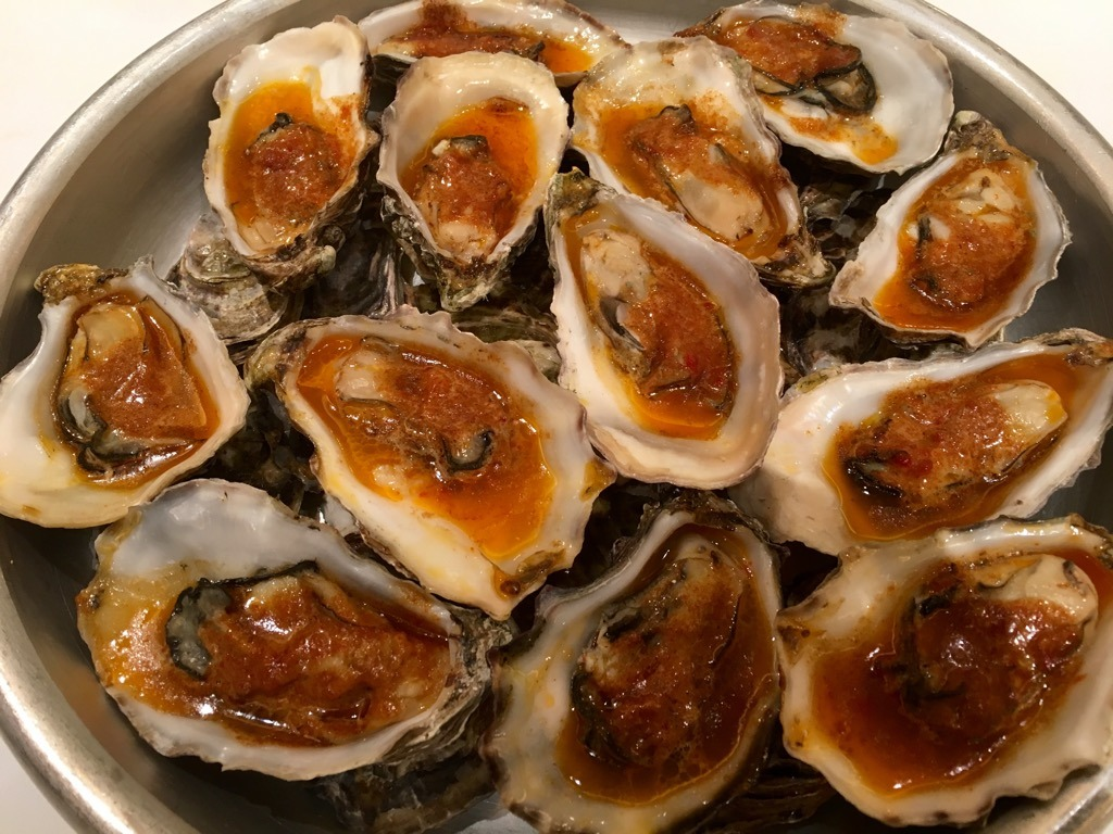 Oyster bachannale