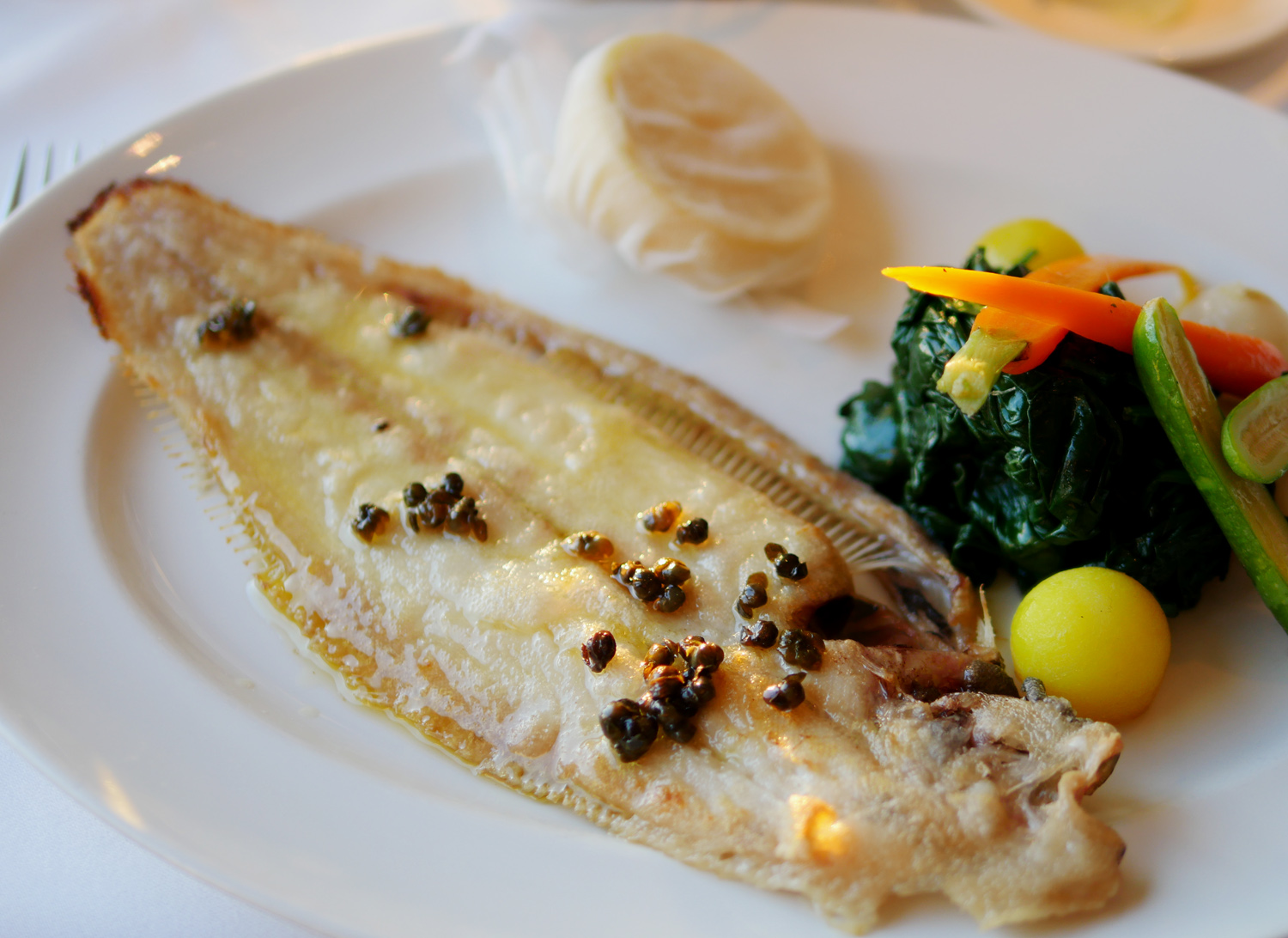 Petersham Hotel Dover Sole