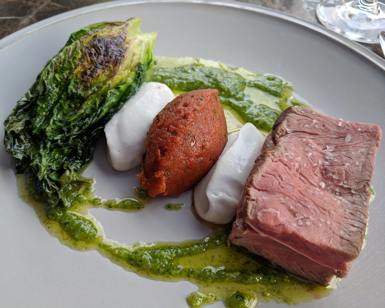 Plate Restaurant - Shoreditch - Lamb
