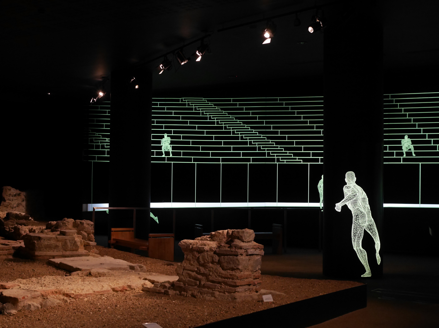 Roman Amphitheatre Guildhall Art Gallery London