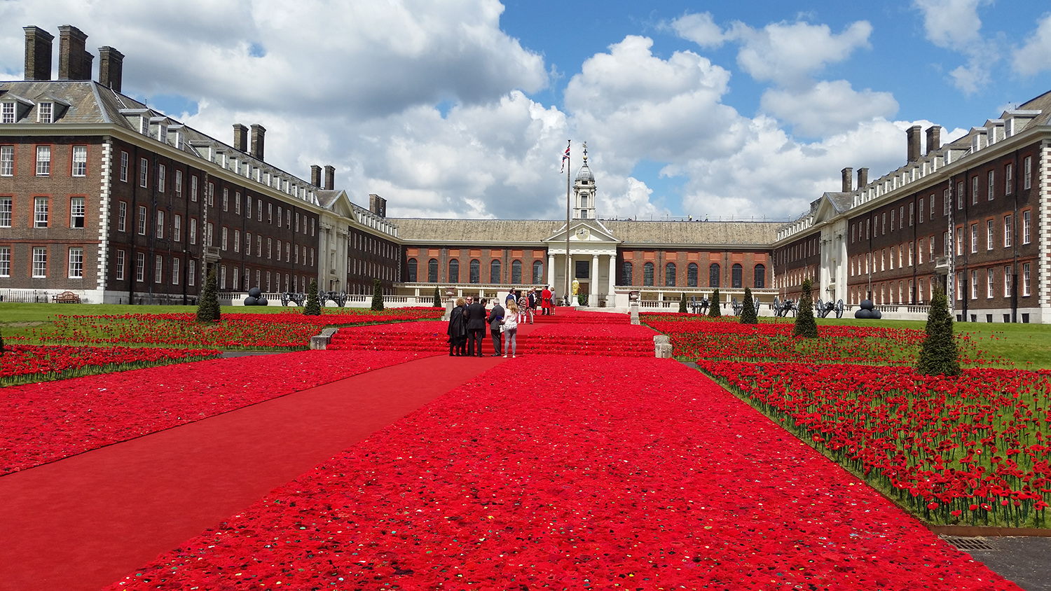 Royal Chelsea Hospital London - Flower Show