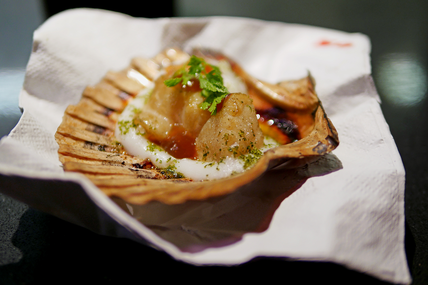 Street XO Mayfair Restaurant - Scallop