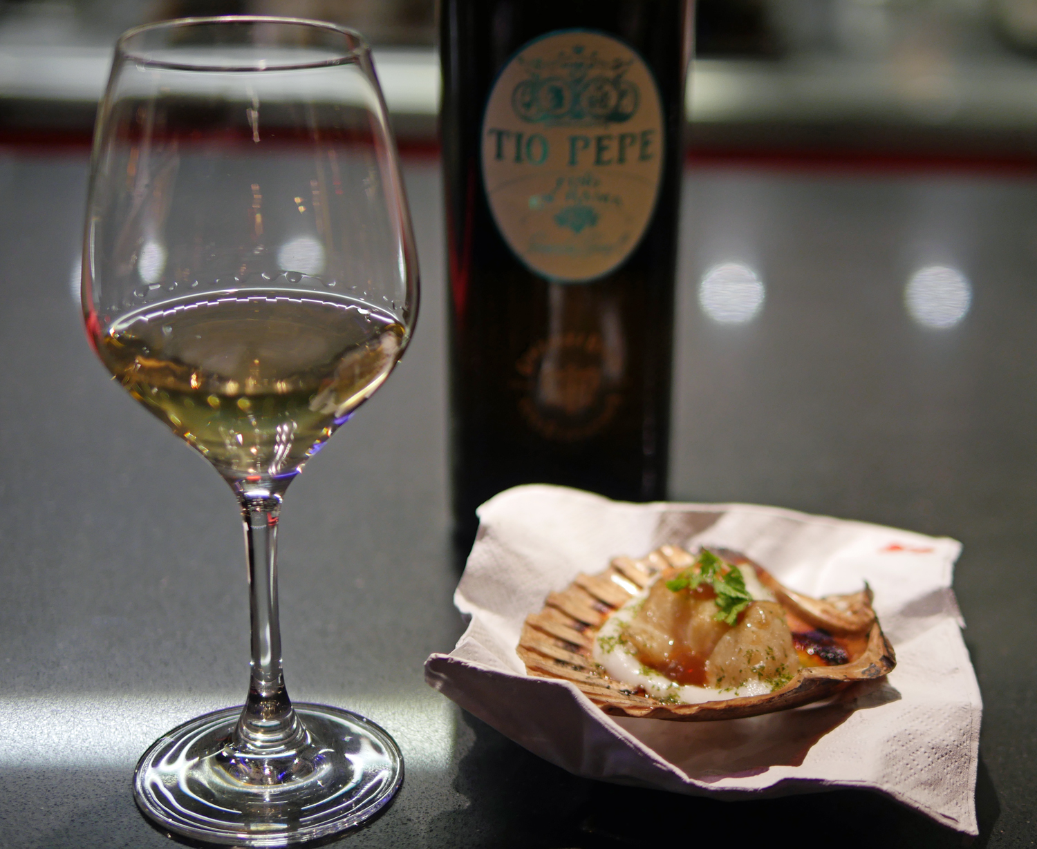 Tio Pepe Scallop Street XO Mayfair Restaurant