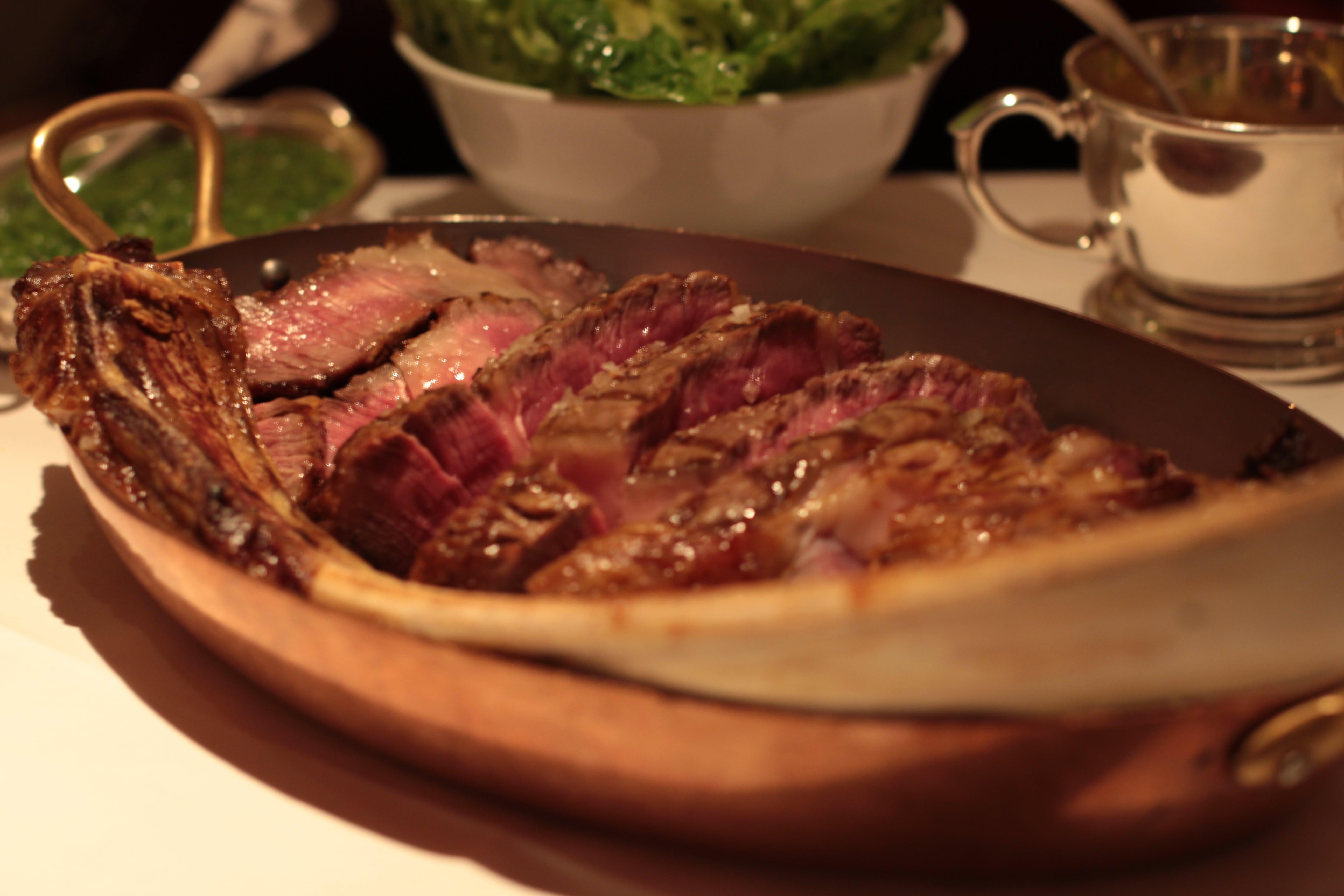 Tomahawk steak, Colony Grill