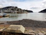 Plaque commemorating Pilgrim Fathers Dartmouth