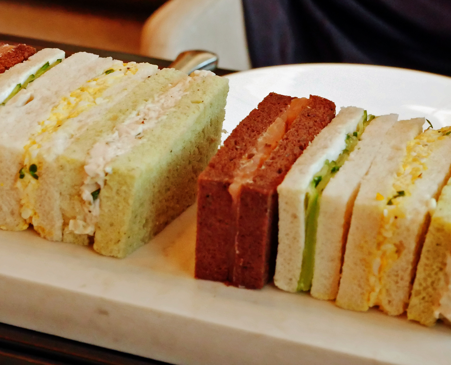 Afternoon Tea London Rosewood Hotel Rodin - sandwich selection