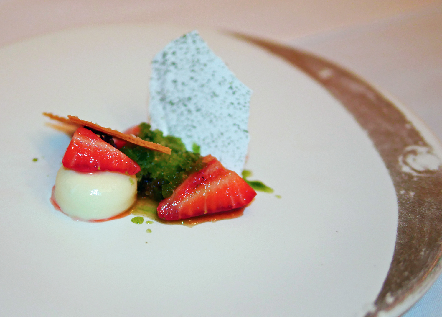 Alyn Williams at the Westbury - Dessert