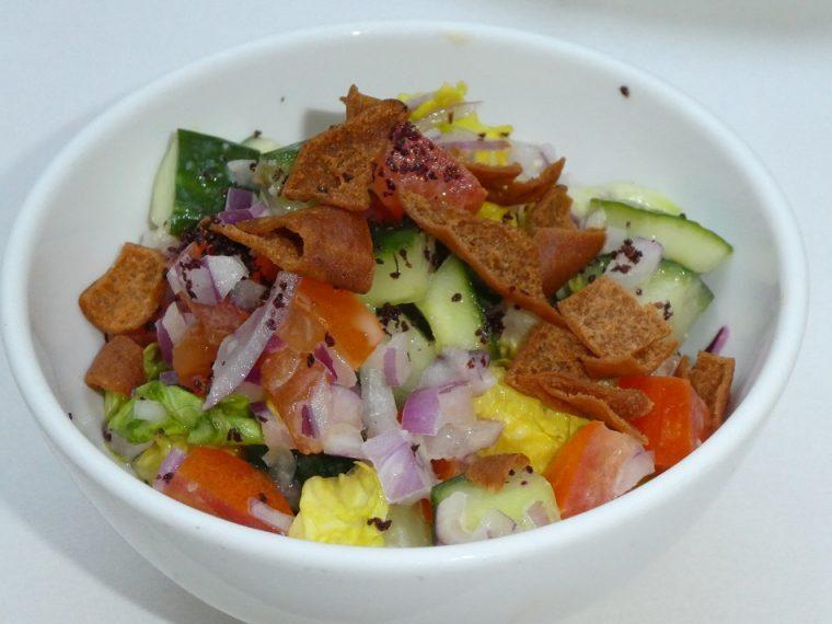 The Landmark London's High Palms High Tea Arabic Salad