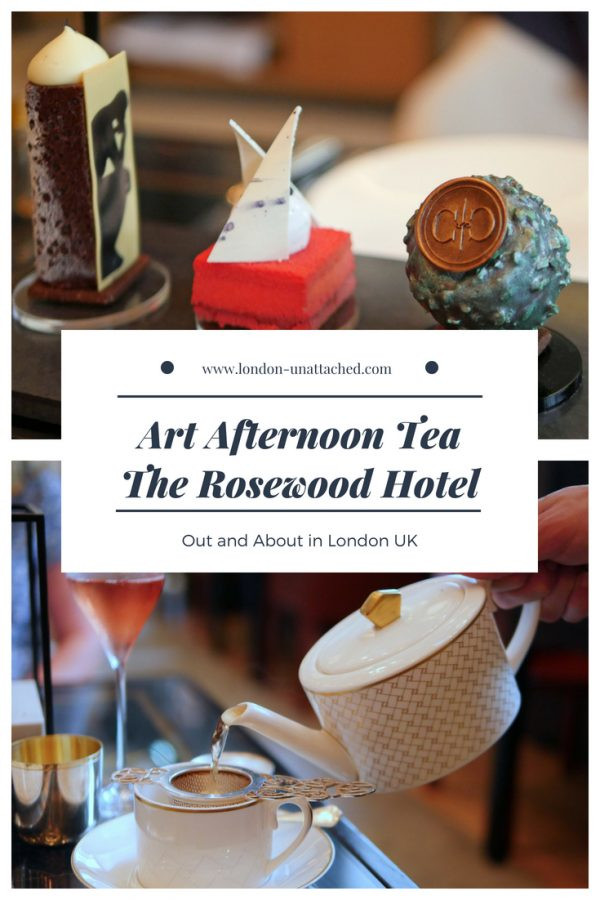 Art Afternoon Tea Rosewood Hotel London