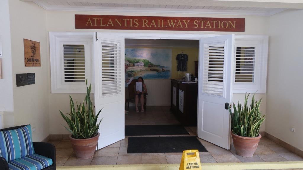 Atlantis Hotel entrance Barbados