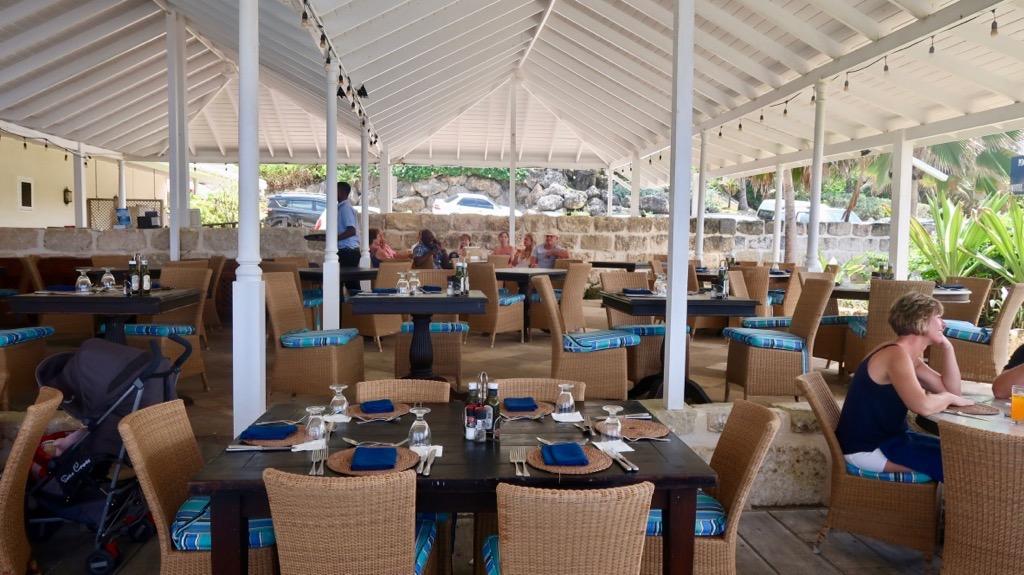 Atlantis Hotel terrace Barbados