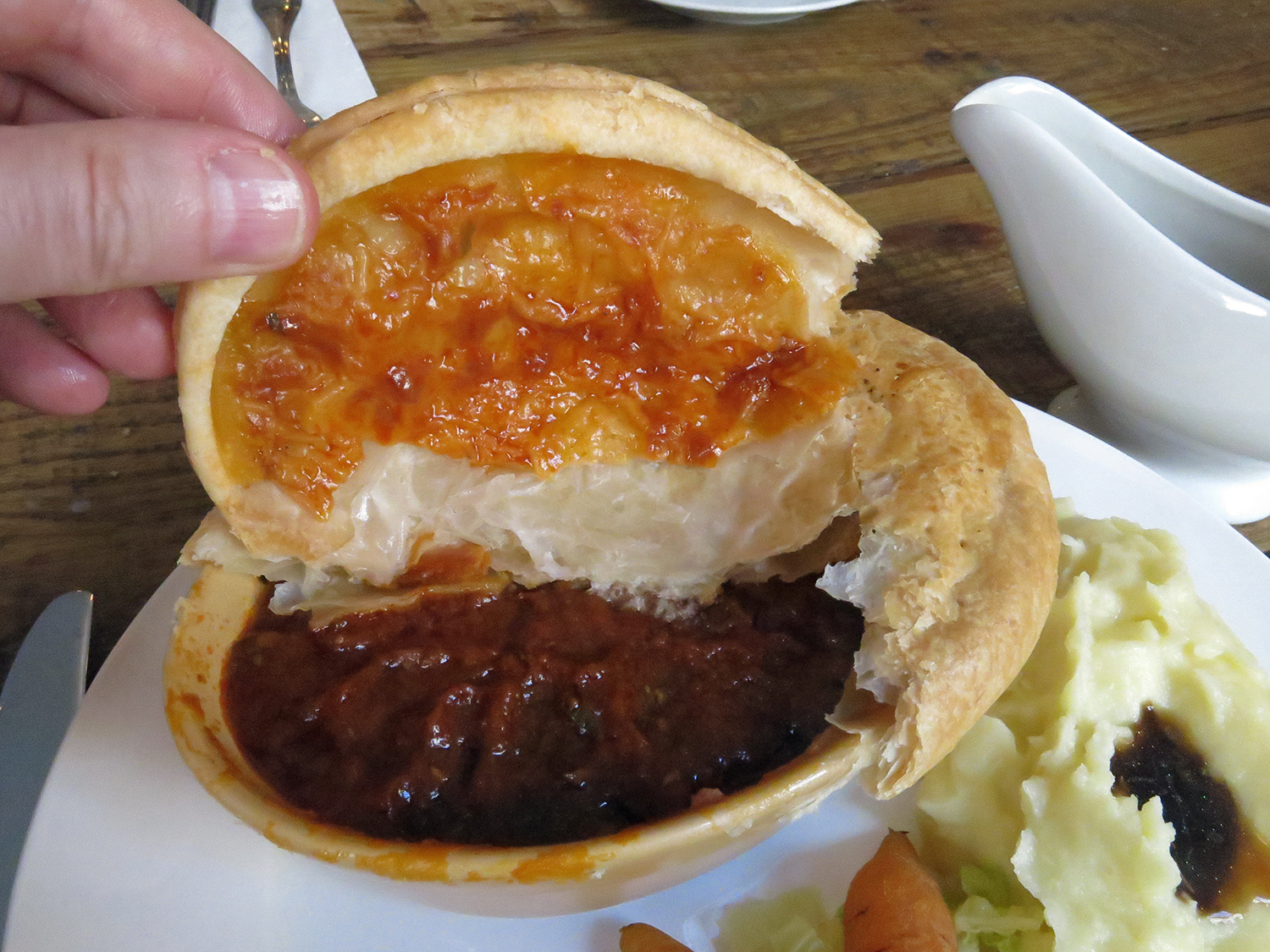 Beef and Ale Pie Newman Arms