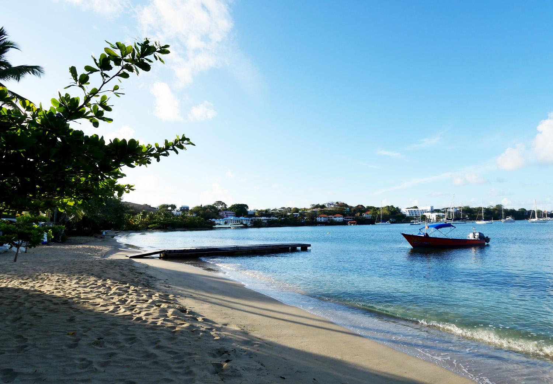 Calabash Hotel Grenada - Beach in sun