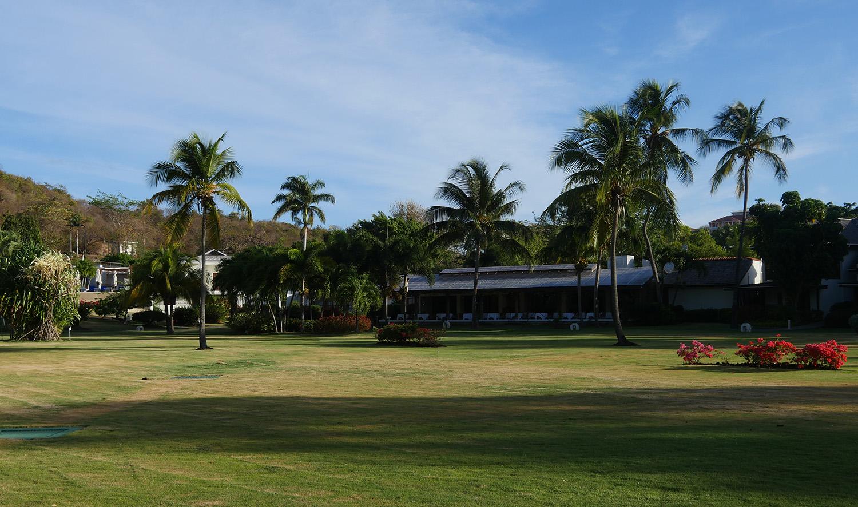Calabash Hotel Grenada - Restaurant from Gardens