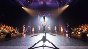 Circolombia at London's Underbelly Festival