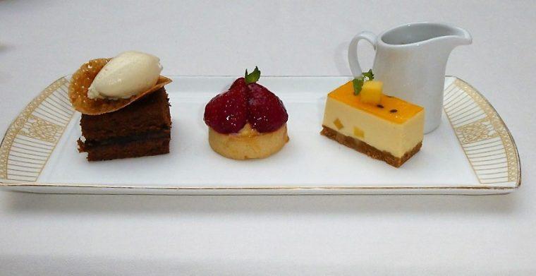 The Landmark London's High Palms High Tea desserts