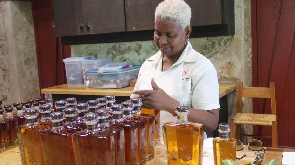 Distilling rum at St Nicholas Abbey, Barbados