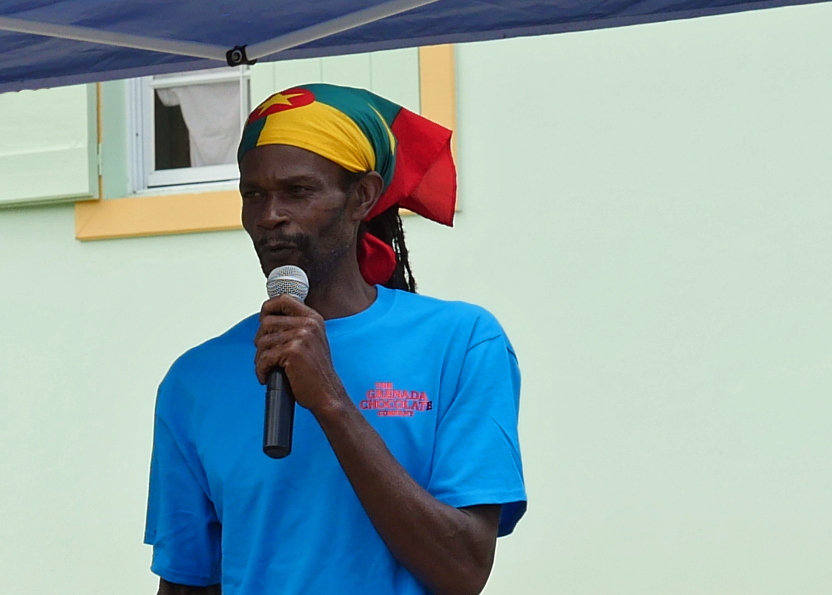 Edmond Brown at Grenada Chocolate Company