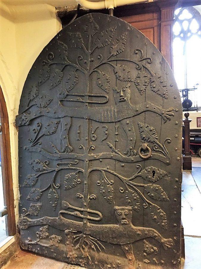 Door of St Saviours Church