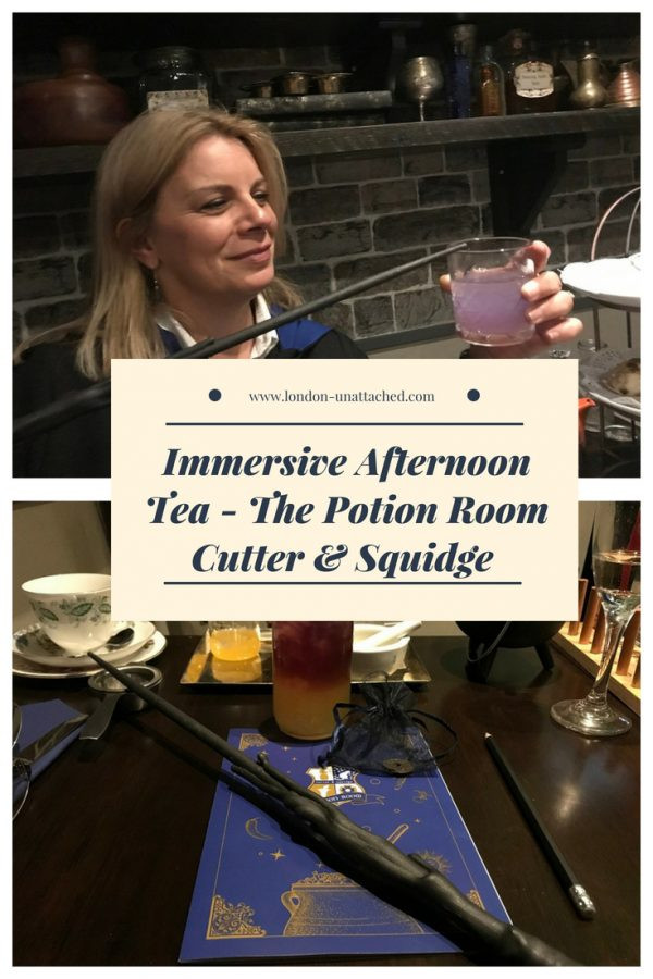 Immersive Afternoon Tea - The Potion Room Cutter & Squidge