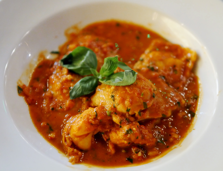 Classic Italian Restaurant Soho 40 Dean St - Home Made Lobster Ravioli