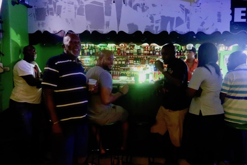 Kermits's bar, Barbados
