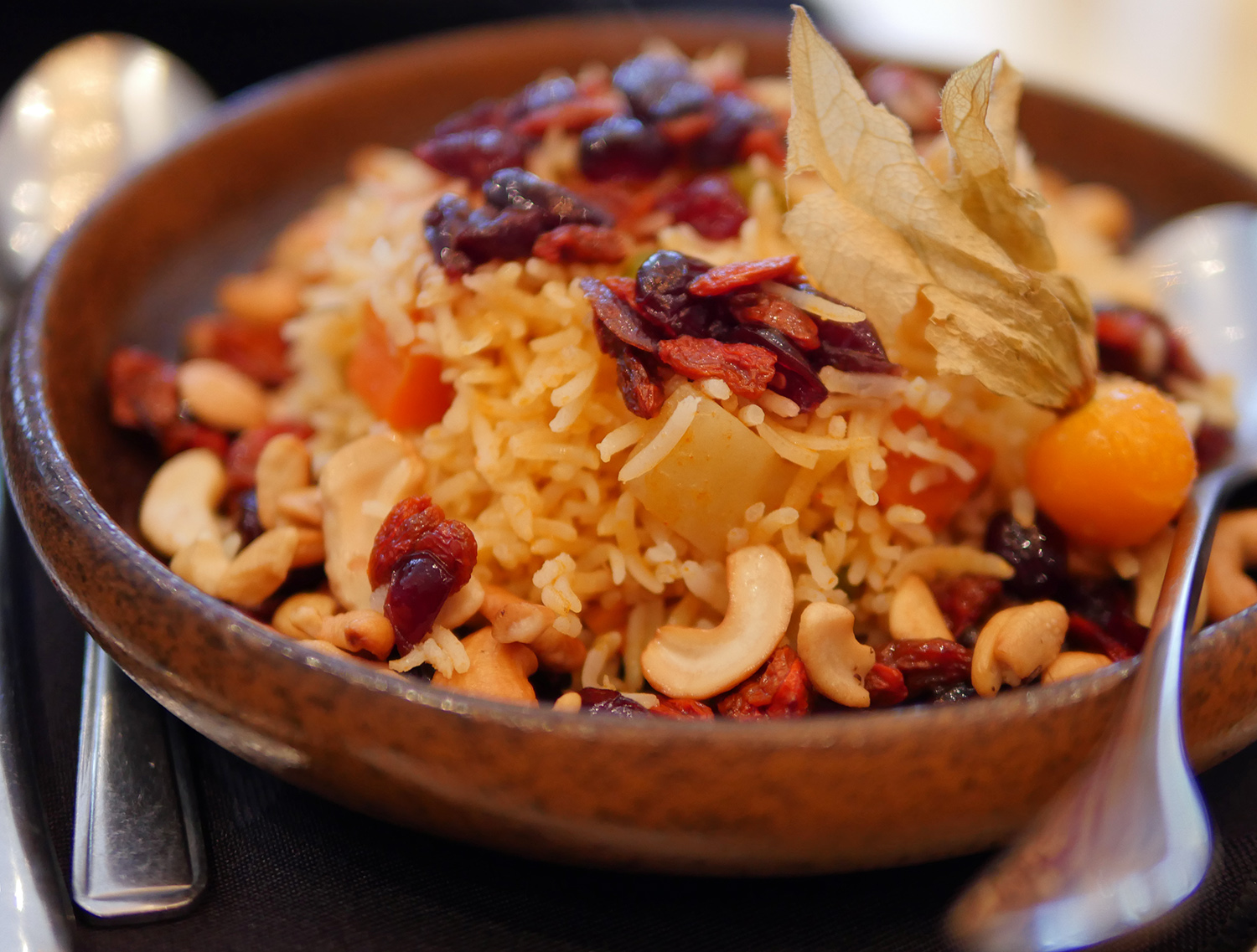 Matsya Indian Restaurant Mayfair - Veg Berry Pulao