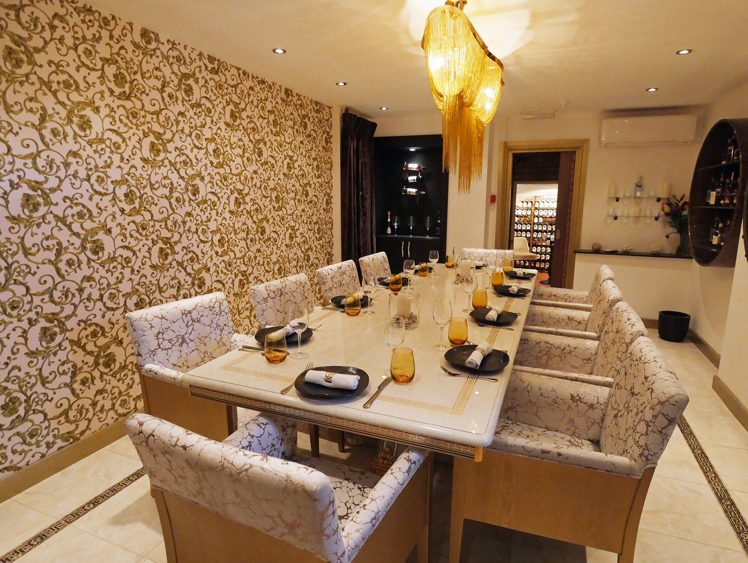 Matsya Indian Restaurant Mayfair - private room