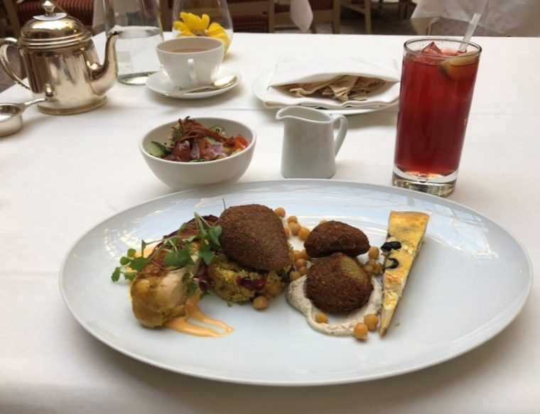 The Landmark London's High Palms High Tea Mezze