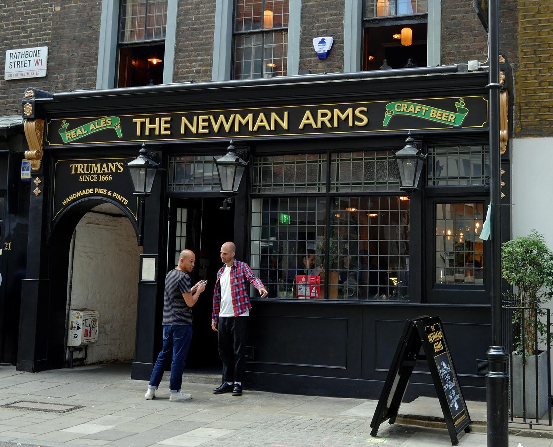 Newman-Arms-Fitzrovia - British Pub
