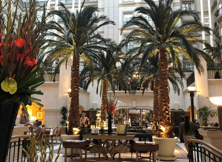 The Winter Garden at the Landmark London