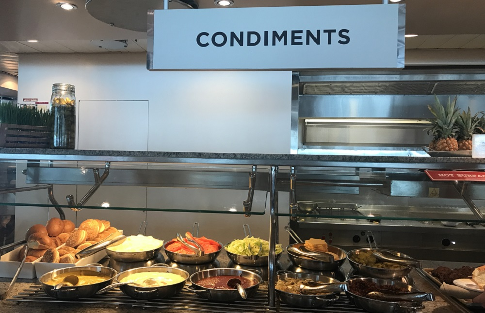 Royal Caribbean Condiments