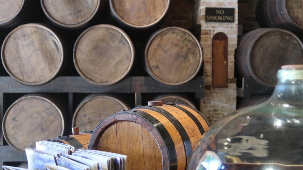 Rum Barrels, St Nicholas Abbey, Barbados