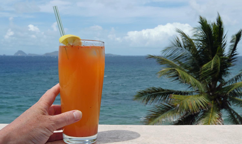 Rum Cocktail Petit Anse Grenada