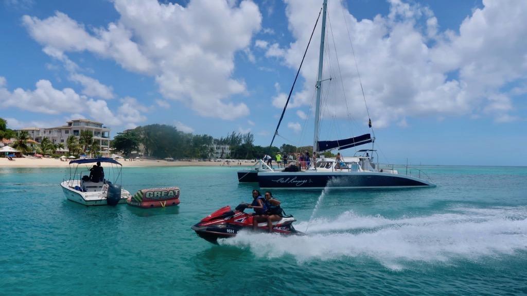 Sea sports, Barbados