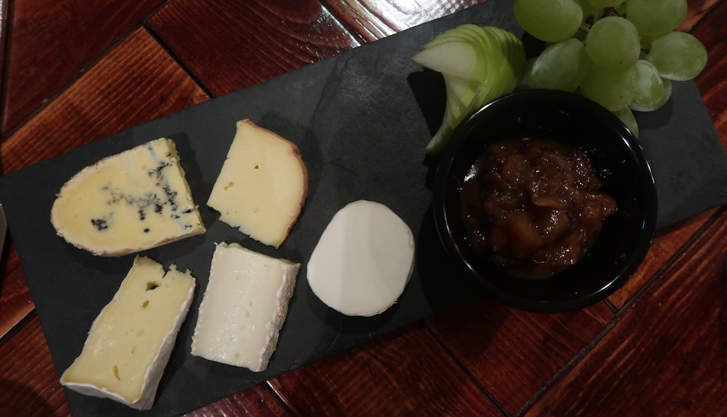 Stoke Place - cheese board