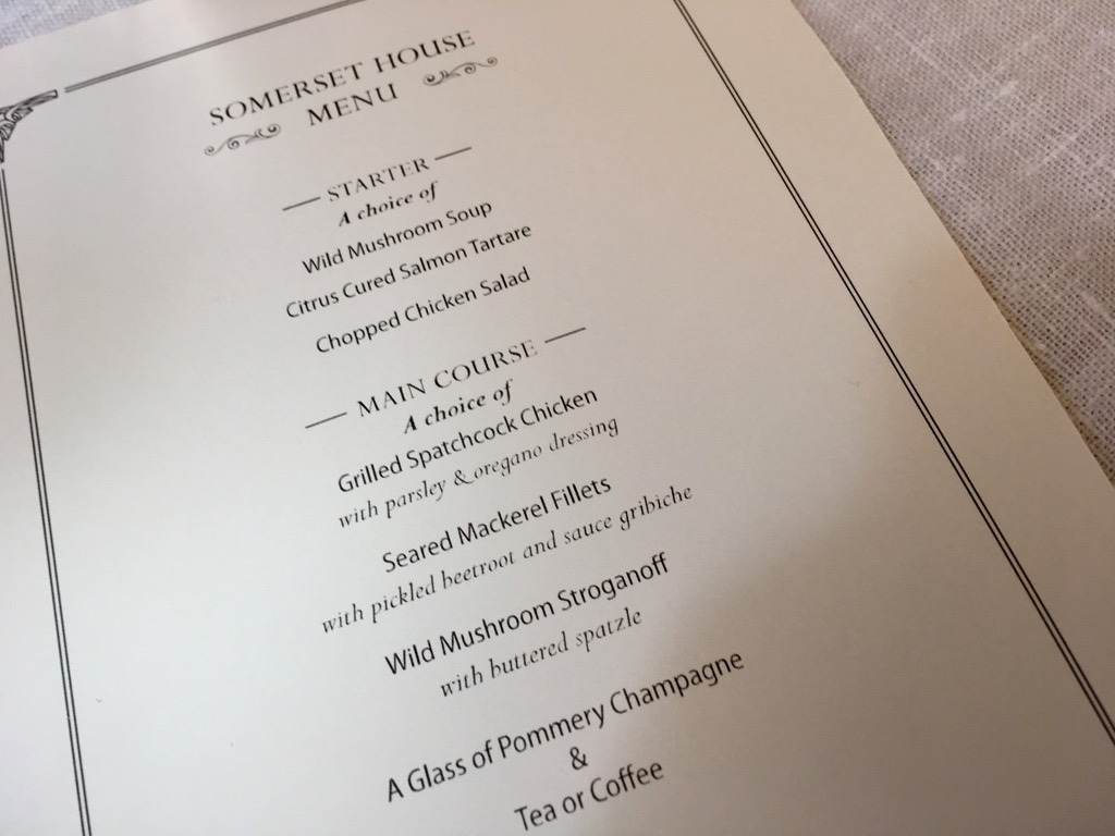 The Delaunay menu