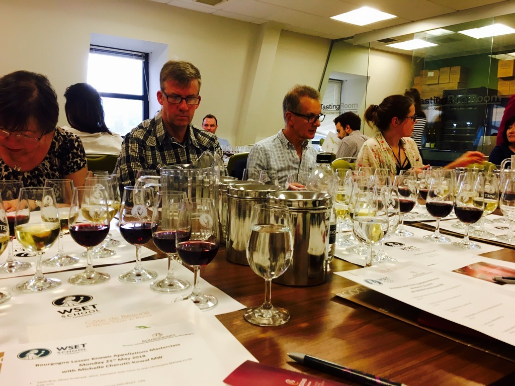 WSET CLASS - Wine Tasting in London