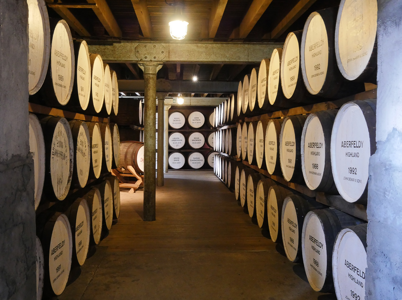 Aberfeldy Barrels